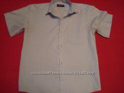 Рубашки школьные на 9, 10, 11, 12, 13лет , 145, 150, 160 см на мальчи