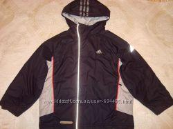 Куртка ADIDAS на мальчика, Ватник -китай 6-7лет. Дубленка-6, 7л