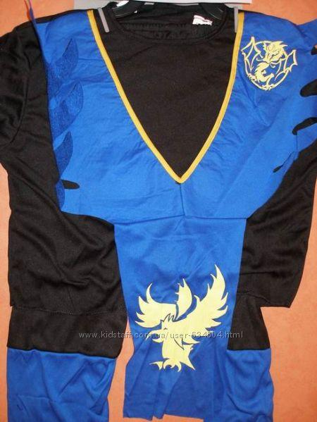 Ниндзя синий (S,110-120 см)