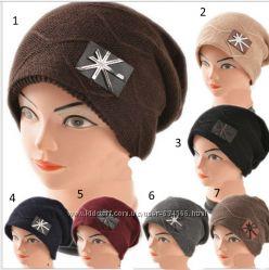 Зимние шапки на флисе