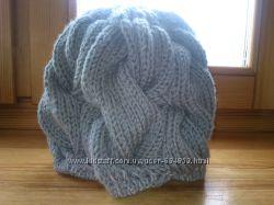 Вязаная шапка в стиле Лало