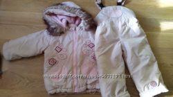 Зимний комплект для девочки на рост 104