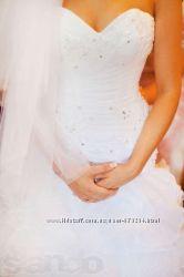 Итальянское свадебное платье фирмы ROZY. Из салона Кокос