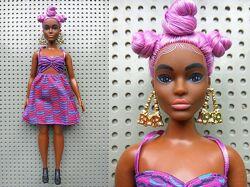 Кукла Барби гибрид, голова barbie bmr 1959 petite, тело Fashionistas 57