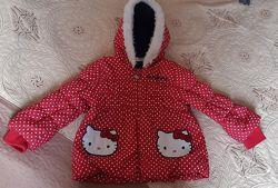 Демі-курточка Hello Kitti на дівчинку 3-4 роки