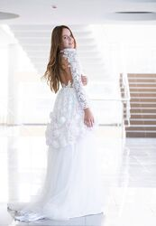 Дизайнерское нарядное платье DOLLY 148-158см