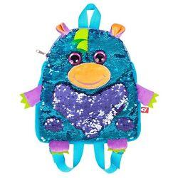 Детская сумка-рюкзак Дракон с пайетками. Оригинал Fancy RDG01