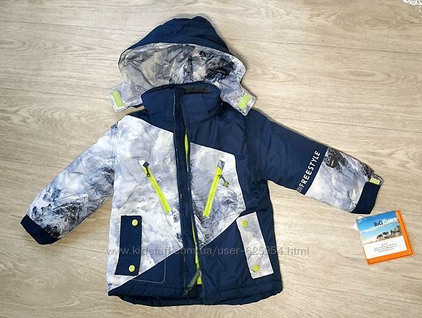 Новая теплая лыжная куртка Big Chills Snow, 4 года, большемерит, есть нюанс