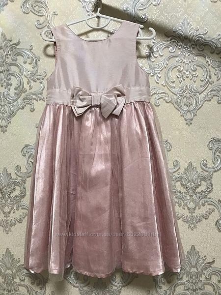 Нарядное праздничное платье с фатином h&m