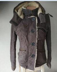 Куртка р.44, S  осеень, тёплая зима