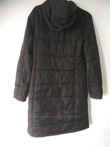 Пальто лёгкое демисезонное М чёрное