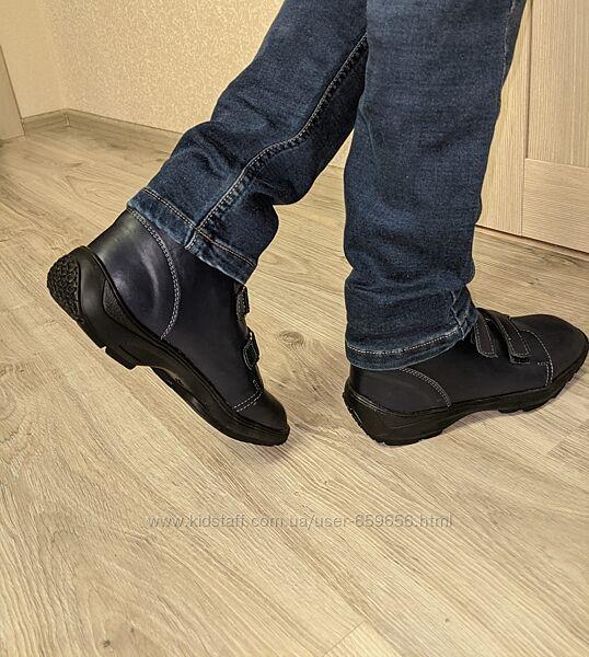 Ортопедические ботинки деми. Натуральная кожа, р.35 23см