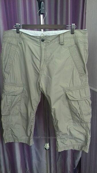 Шорты бриджи s. Oliver cargo shorts. size 36 / L / XL.