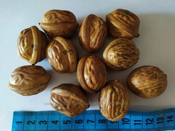 Искусственный грецкий орех для декора. Для композиций.