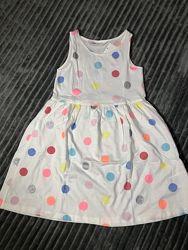 Нове плаття H&M 4-6років 110-116см.