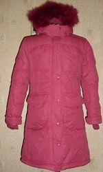 Зимнее пальто ф-мы Donilo ,152р, на 12 лет оригинал, как новое