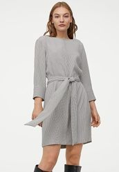 Платье с поясом H&M размер M - L