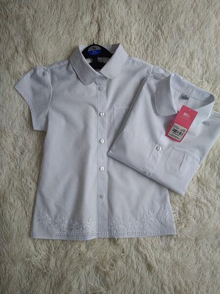 Tu school белая рубашка, блуза