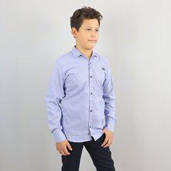 Рубашка для мальчика с длинным рукавом тм Blueland