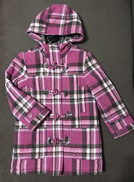 Куртка-пальто 6-7 лет в отличном состоянии