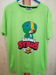 Прикольная яркая футболка на 12-14 лет