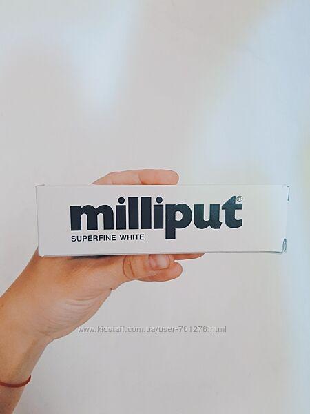 Milliput Миллипут двухкомпонентная эпоксидная пластика холодного отверждени