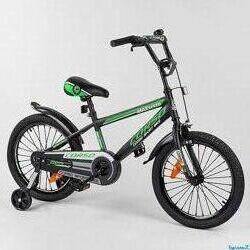 Corso ST 18 дюймов детский двухколесный велосипед Корсо c усиленной спицей