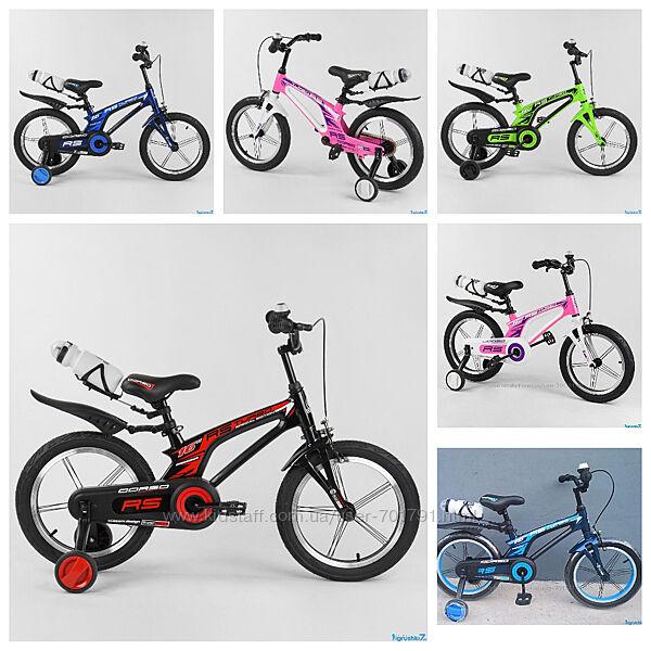 Велосипед магниевый 16 дюймов 2-х колёсный CORSO легкий