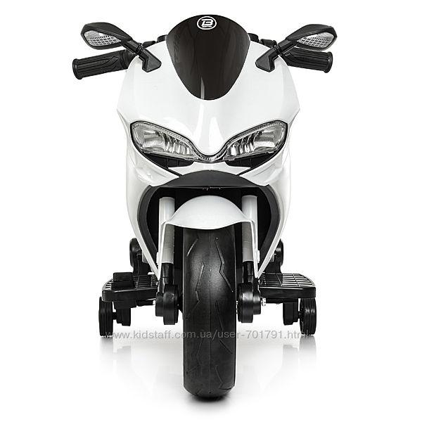Мотоцикл 4104EL детский с мотором музыкой USB электромобиль
