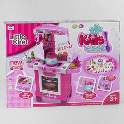 Кухня 008-939 игрушка детская высокая с паром посудкой