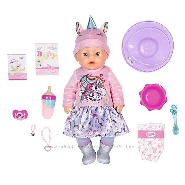 Кукла Zapf Baby Born серии Нежные объятия - Очаровательный Единорог 831311