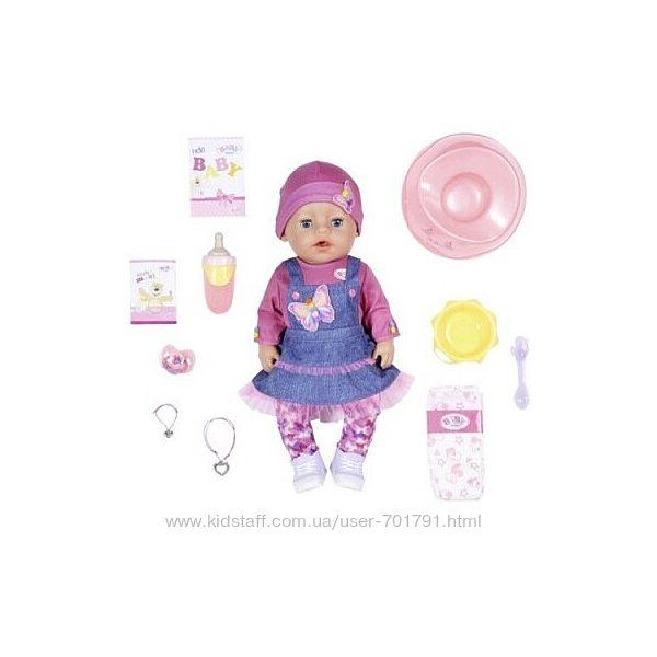Кукла BABY BORN серии Нежные объятия - Джинсовый Лук 43 см 831298