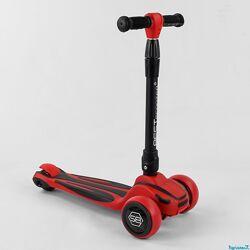 Самокат трехколесный Best Scooter, MAXI, складной алюминиевый