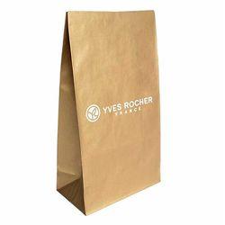 Пакет бумажный золотистый - конверт Ив Роше