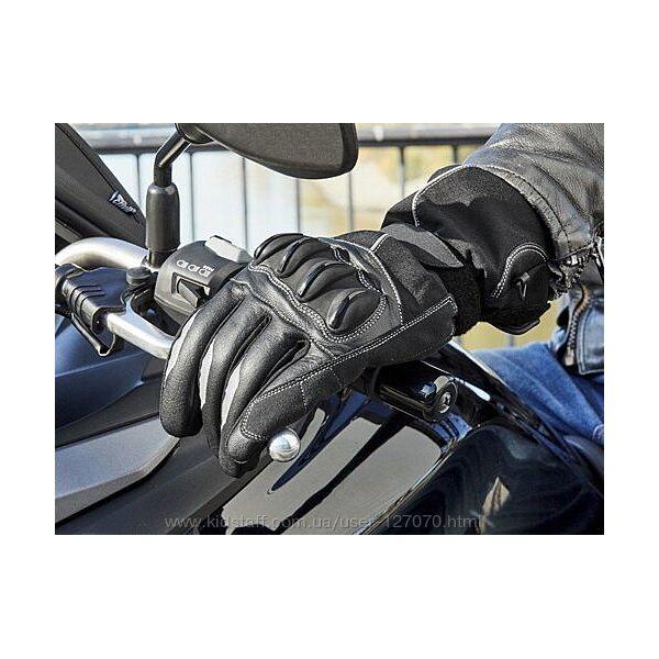 Перчатки для мотоцикла мужские Crivit