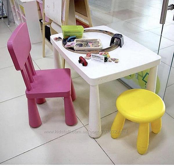 Детский стульчик MAMMUT IKEA икеа