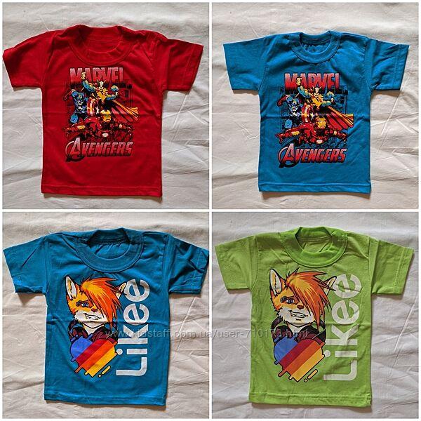 Детская футболка бравл, марвел, лайк, тачки, супергерои