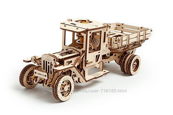 Механическая модель 3D пазл Грузовик UGM-11