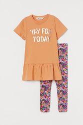 Платье и лосины H&M на 5-10 лет, 3 расцветки