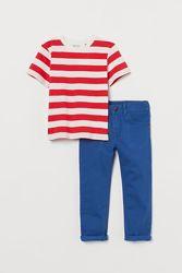 Костюм H&M штаны и футболка на 5-10 лет, цвета