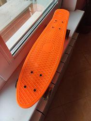 Пенни борд скейтборд Penny Board со светящимися колесами