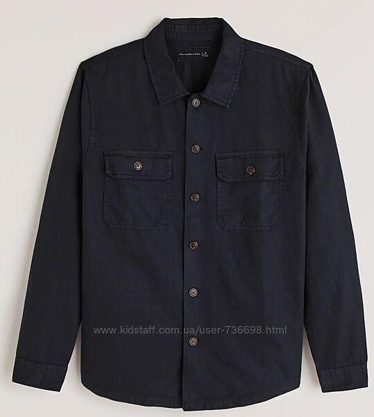 Рубашка Abercrombie & Fitch размер M, оригинал