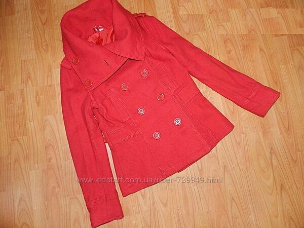 Женское демисезонное пальто. Фирма HM. Размер 44-46