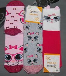 Теплые махровые носки Bross 1-3, 3-5, 5-7, 7-9, 9-11 лет часть 2