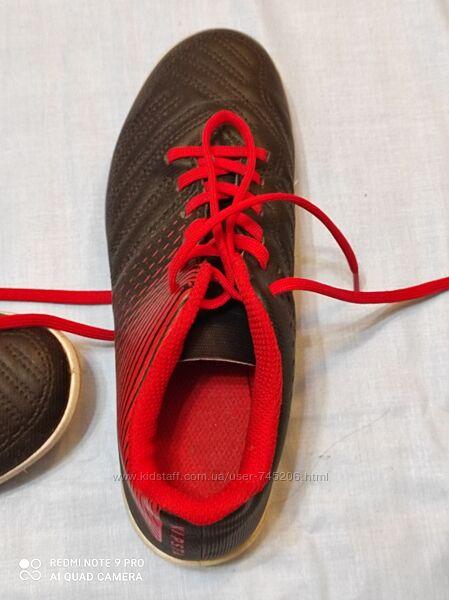 Футбольные бутсы для мальчика, Декатлон, 33 размер, 20,5см стелька