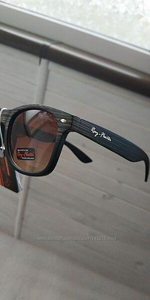 Мужские качественные стильные солнцезащитные очки