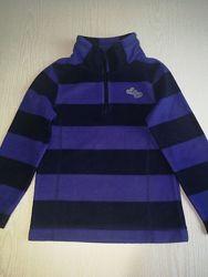 Флисовая кофта флиска Palomino C&A Паломино Си&Эй, р.104, полосатая фиолет