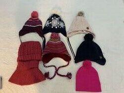 Тёплые шапки на флисе на разный возраст