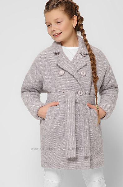 Демисезонное детское пальто для девочки x-woyz  DT-8308-4