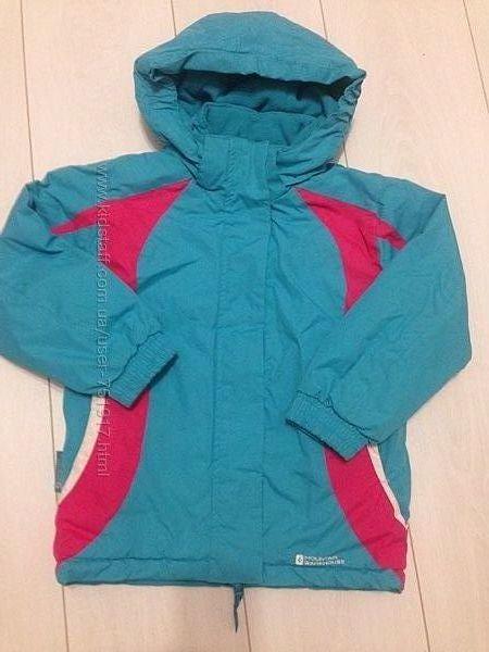 Зимняя термокуртка в идеальном состоянии